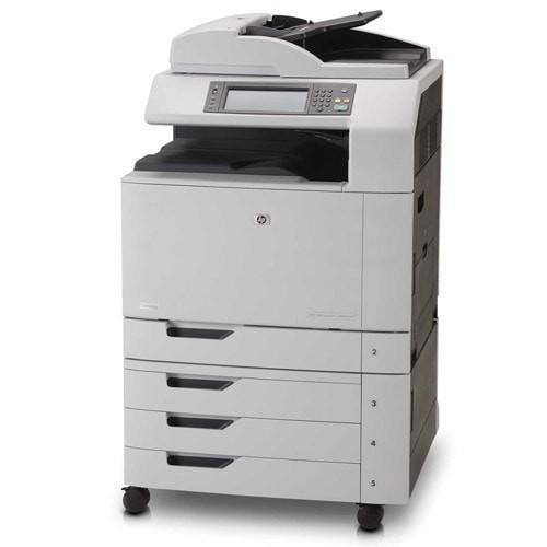 Absolute Toner Pre-owned HP Color LaserJet CM6040 MFP Printer Copier Scanner Office Copiers In Warehouse