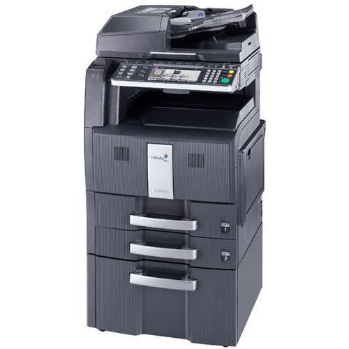 Absolute Toner Pre-owned Kyocera TASKalfa 300i Monochrome Copier Printer Color Scanner 11x 17 Brand New REPOSSESSED Office Copiers In Warehouse