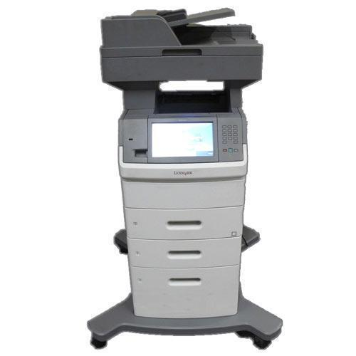 Pre-owned Lexmark XS654de Multifunction Laser Monochrome Printer Copier Color Scanner Fax ONLY 79K Pages