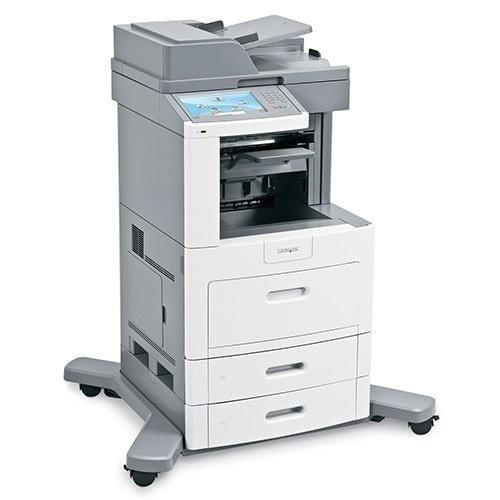Absolute Toner Pre-owned Lexmark XS658de Multifunction Laser Printer Copier Fax Scanner(promo) Monochrome Copiers