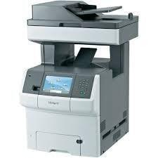 Absolute Toner Pre-owned Lexmark XS736de Multifunction Color Laser Copier Printer Fax Scanner Color Office Copiers