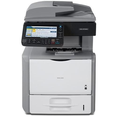 Pre-owned New Ricoh Aficio SP 5200S Monochrome Laser Multifunction Printer
