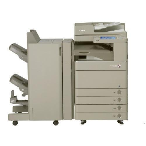 Absolute Toner REPOSSESSED Canon imageRUNNER ADVANCE C5051 5051 Color Copier Single Pass Duplex Scanner Booklet Maker Finisher Stapler Office Copiers In Warehouse