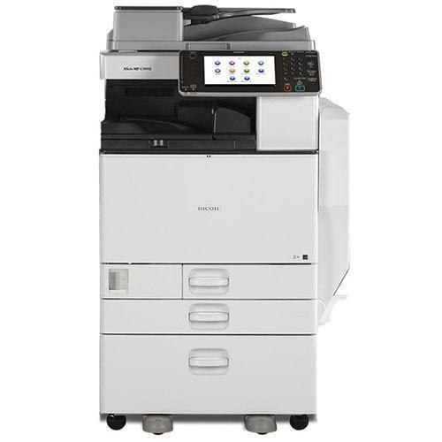 Absolute Toner Pre-owned Ricoh Aficio MP C3002 3002 Color Digital Imaging Printer 30 PPM Copier Scanner Office Copiers In Warehouse