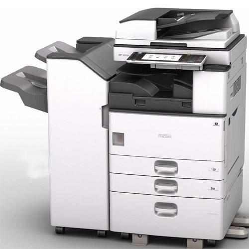 Pre Owned Ricoh MP 3053 Monochrome Printer Copier Color Scanner Copy Machine REPOSSESSED Only 28k Pages Printed