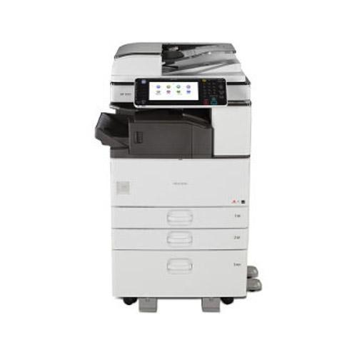 Absolute Toner Pre Owned Ricoh MP 3053sp 3053 Black and White Printer Copier Color Scanner REPOSSESSED Only 8k Pages Printed Lease 2 Own Copiers
