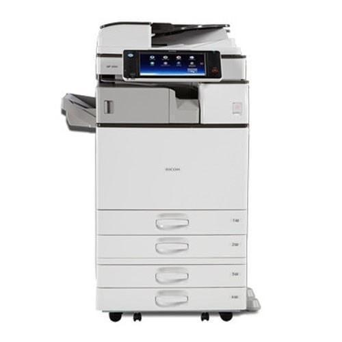 Absolute Toner $49.98/month REPOSSESSED with only Ricoh MP 3554 Black and White Laser Multifunction Printer Copier Scanner 11x17 Showroom Monochrome Copiers