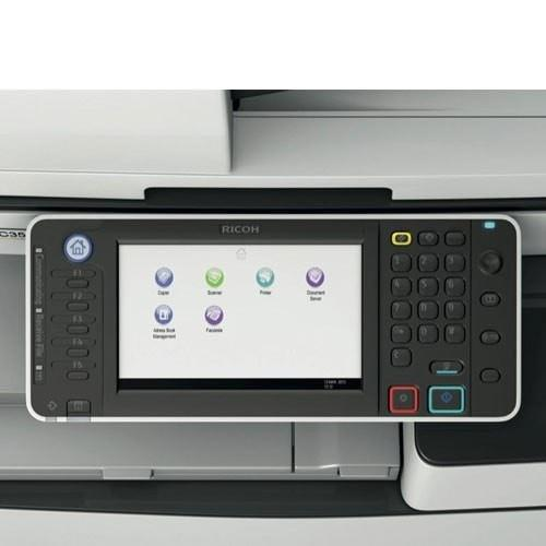 Pre-owned Ricoh MP 4002 Black and White Multifunction Printer Copier Color Scanner 11x17 A3 Stapler Only 46k pages