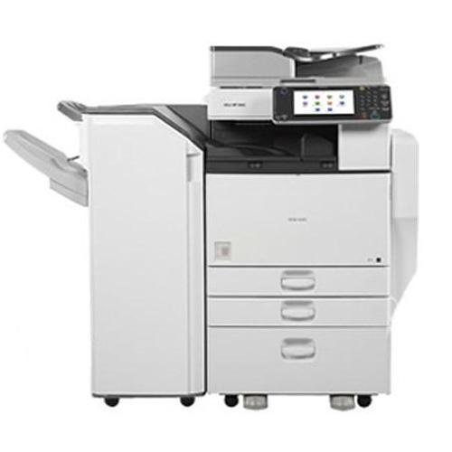 Pre Owned Ricoh MP 5002 Black & White Copier Printer Color Scan Fax 11x17 Stapler REPOSSESSED only 28k Pages