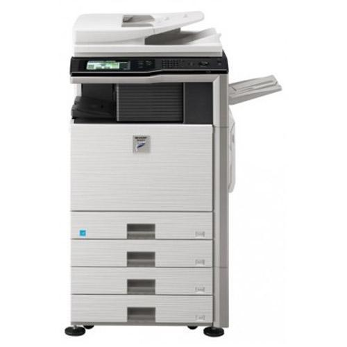 Absolute Toner Pre-owned Sharp MX-2640 Color Copier Scanner Scan 2 email Printer Fax Stapler - REFURBISHED Office Copiers In Warehouse