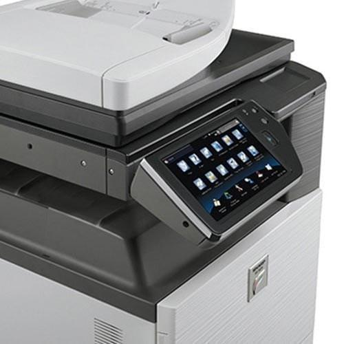 Pre-owned Sharp MX3110N Color Copier Laser Printer fax Printer Colour Photocopier Copy machine (3110 3110N)
