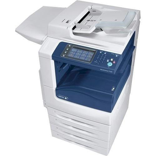 Absolute Toner REPOSSESSED - Xerox workcentre WC 7225 Colour Multifunction Photocopier 11x17 Office Copiers In Warehouse
