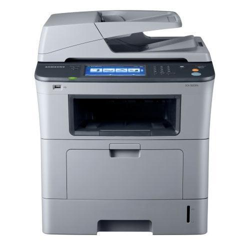 Absolute Toner ONLY $199 Samsung SCX-5835FN Monochrome Multifunction Laser Printer, Copier, Scanner, Scan to email Laser Printer