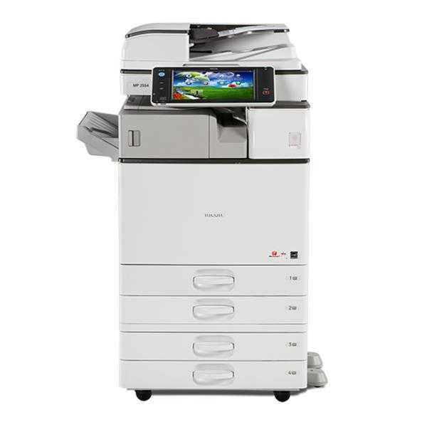 Absolute Toner $69/month Ricoh Monochrome MP 2554 Multifunction Copier 25 PPM for ALL INCLUSIVE Service Program Great Solution for a low printing Volume Lease 2 Own Copiers