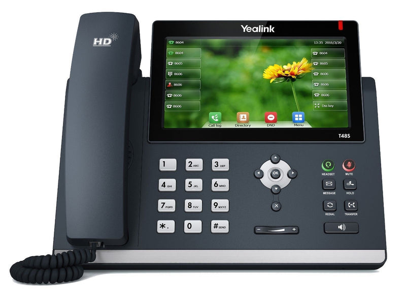 Absolute Toner YEALINK SIP-T48S-SFB ULTRA-ELEGANT GIGABIT IP PHONE