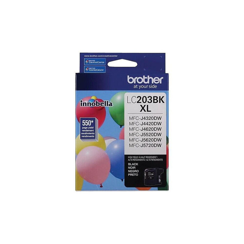 Absolute Toner LC203BKS BLACK INK MFCJ4320DW/MFCJ4420DW/MFCJ4620DW Brother Ink Cartridges