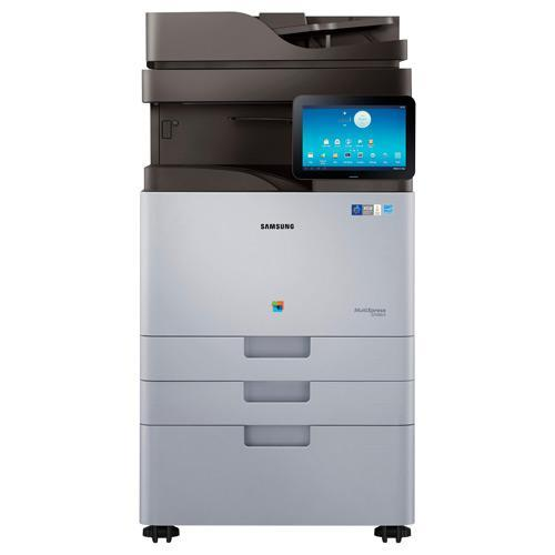 Absolute Toner New Repossessed Samsung MultiXpress SL-X7500LX Color Laser Multifunction Printer Showroom Color Copiers