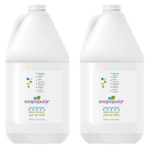 Absolute Toner $58.99 Each - In Stock! - 4L Alcohol-Free Hand Sanitizer Foam Refill (Pack Of 2) - Plus 1.5L Dispenser Sanitizer