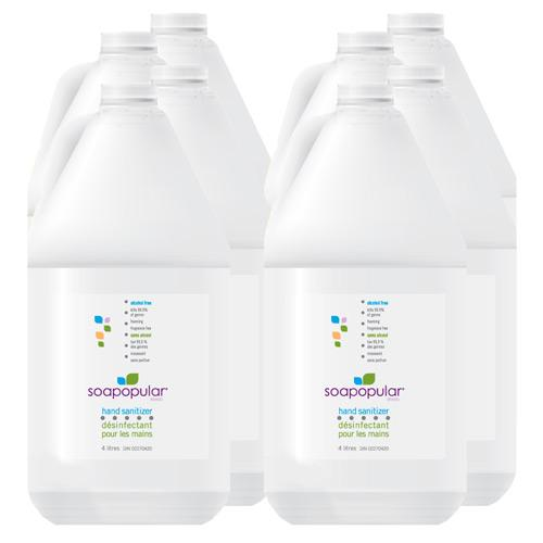 Absolute Toner From $49.94 Each - In Stock! - (4L) 4 Liter Alcohol-Free Hand Sanitizer Foam Refill Sanitizer