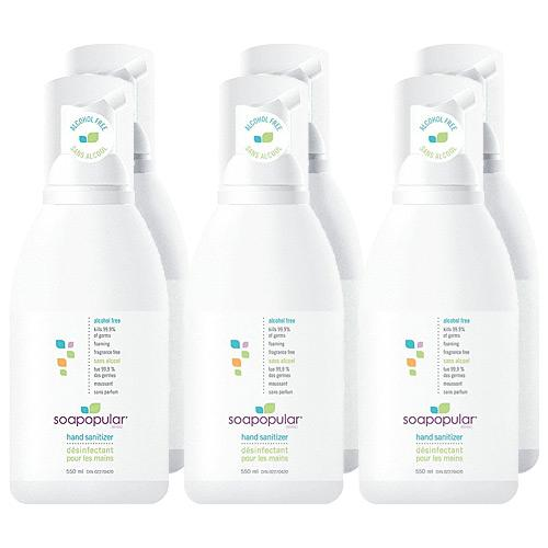 Absolute Toner $10.95 Each - 550ml Alcohol-Free Hand Sanitizer Foam (Pack Of 6) IN STOCK! Sanitizer