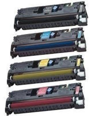 Toner & Drum Cartridge HP 121A Compatible Combo of 5 (Black, Cyan, Magenta, Yellow, & 1 Drum Unit)