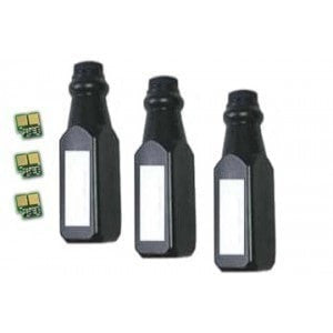 Toner Refill Compatible for Dell Y5009 2 Bottles Plus 1 Free (1700 1710)
