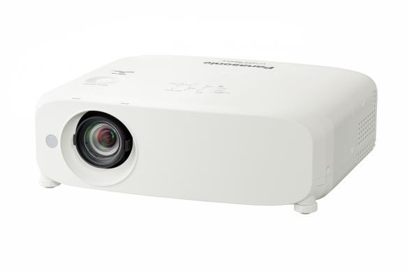 Absolute Toner Panasonic PTVZ585NU 5000 Lumen Projector with Portable LCD Wifi Projector
