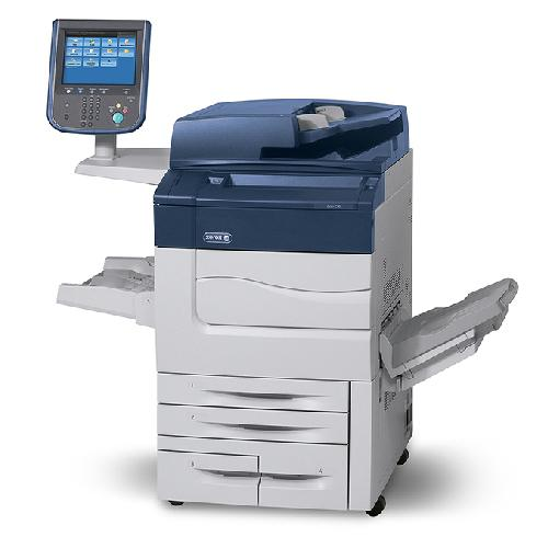 Absolute Toner REPOSSESSED - Xerox Color C70 Print Shop Production Copier High Speed 75 PPM Office Copiers In Warehouse
