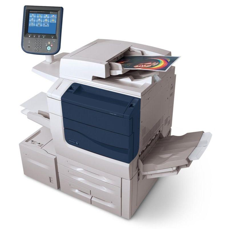 Absolute Toner $149/Month Xerox Color 560 Digital Production Printer office Copier finisher REPOSSESSED Showroom Color Copiers