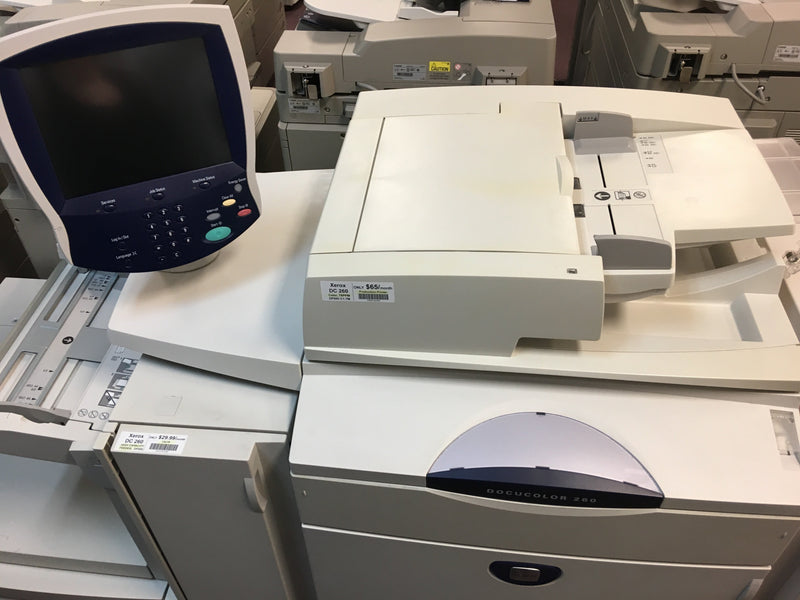 Absolute Toner Xerox DocuColor DC 260 Oversize High-Capacity Feeder Tray Showroom Copier accessories