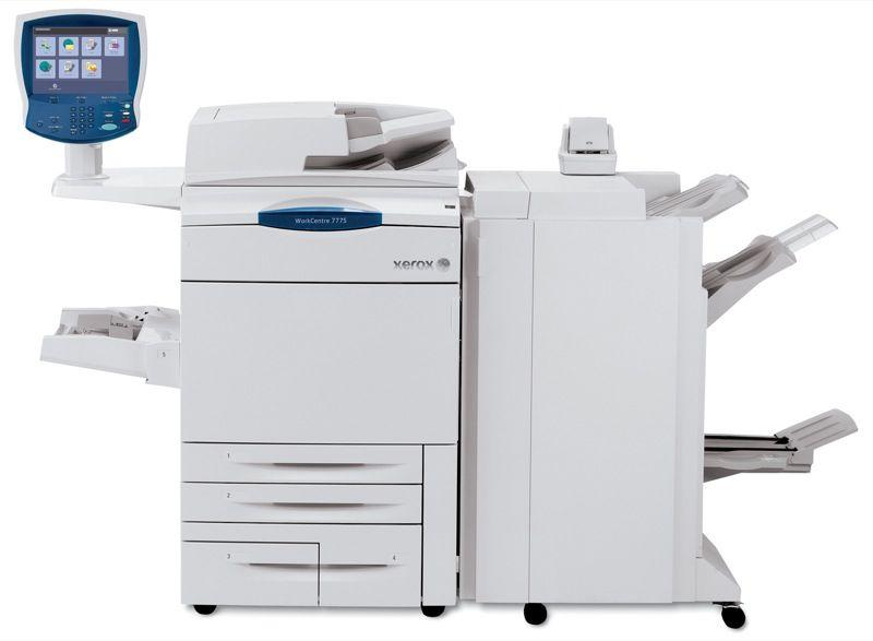 Absolute Toner $75/Month with only 10K pages printed Xerox WorkCentre WC 7755 Color Production Printer or Office Multifunction HIGH-QUALITY Color Copier, Scanner 11x17, 12x18, 13x19 showroom-production-printer