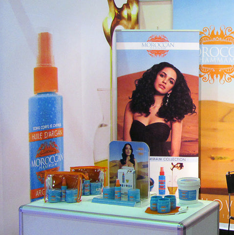 Moroccan Hammam products display trade show