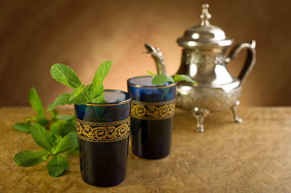 traditionnal moroccan tea