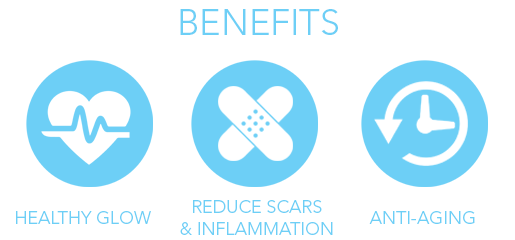 Vitamine E benefits icons