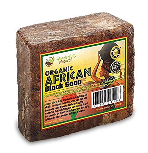 African Black Soap 1 Pound Bar | #1 Acne Treatment