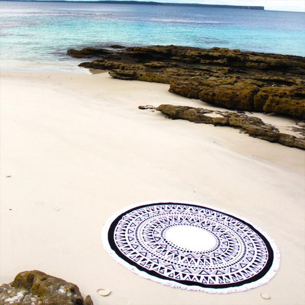 Moroccan Hammam beach and spa towel.