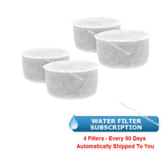 SUBSCRIPTION (Automatic Reshipment Every 90 Days) - Calphalon Water Filter (4 Pack)  -  1838804-4S