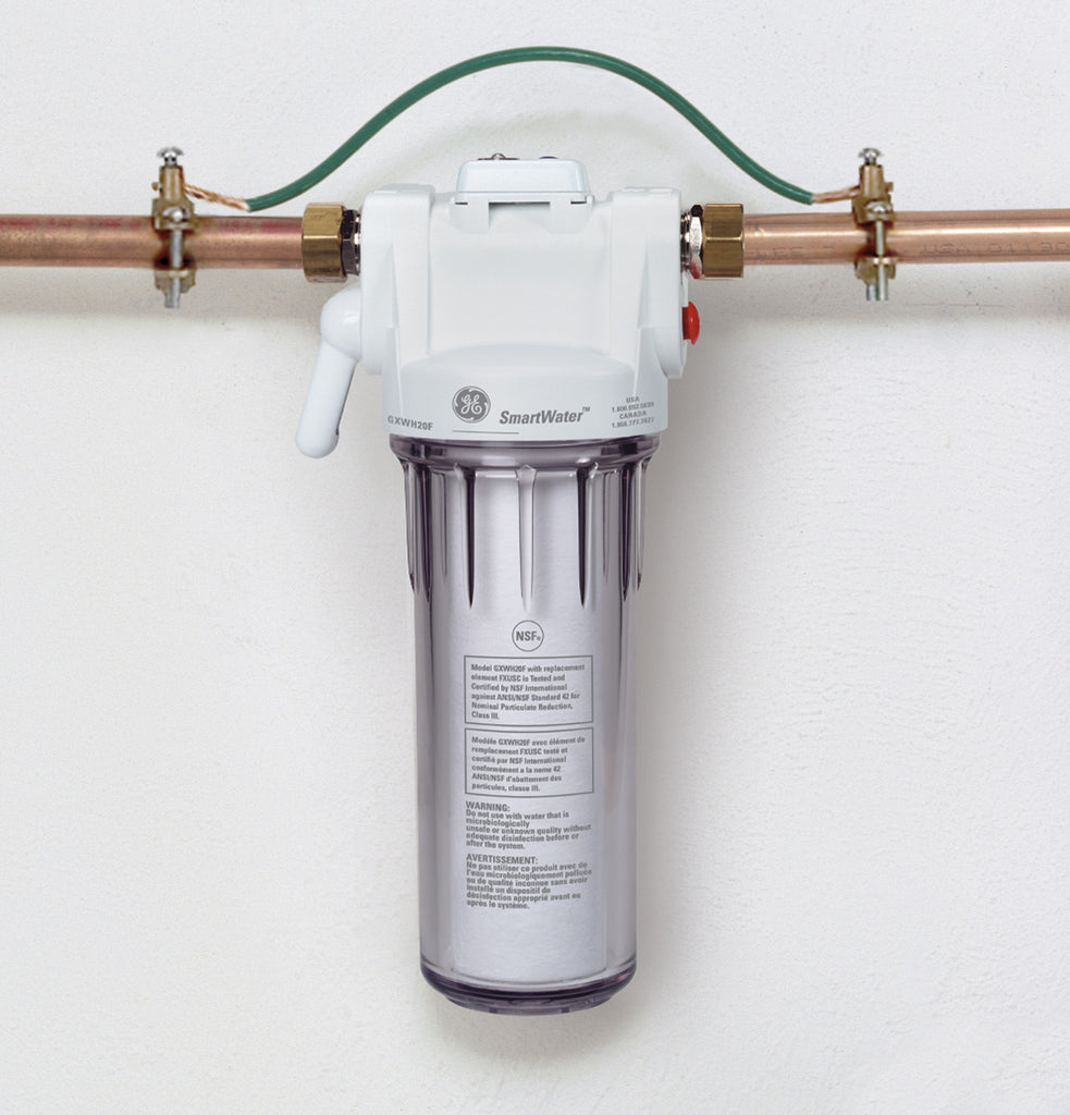 GE Single Sump Whole Home Filtration System - GXWH20S