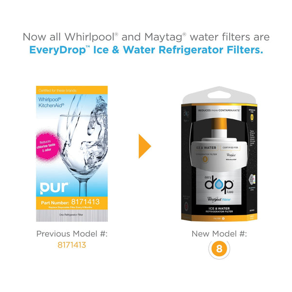 Everydrop By Whirlpool Filter 8 Ice Amp Water