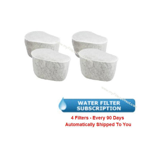 KRUPS Water Filters Subscription (4 Pack)  -  F472-0057-4S