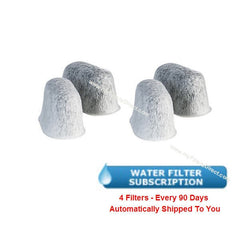 KEURIG Water Filter Subscription (4 Pack)  -  KE-RWF-4S