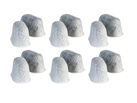DELONGHI Charcoal Water Filters (12 Pack) - 5513214241-12