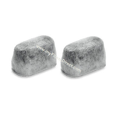 WHIRLPOOL Charcoal Water Filters (2 Pack)  -  W10327041-2