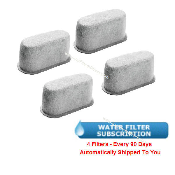 SUBSCRIPTION (Automatic Reshipment Every 90 Days) - WHIRLPOOL Water Filter (4 Pack)  -  W10322629-4S