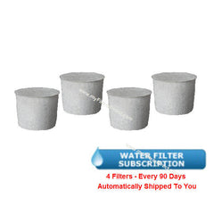 SUBSCRIPTION (Automatic Reshipment Every 90 Days) - KITCHENAID Water Filter (4 Pack)  -  KCM5WFP-4S