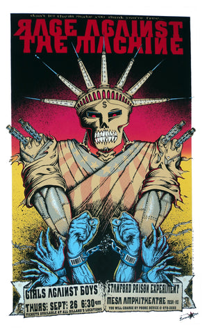 Emek - 1996 - Rage Against the Machine Concert Poster