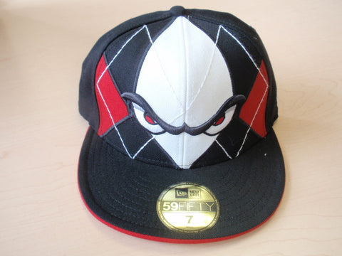 Lake Elsinore Storm Fitted Hat- Blk/ Red