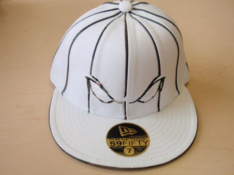 Lake Elsinore Storm Fitted Hat- White
