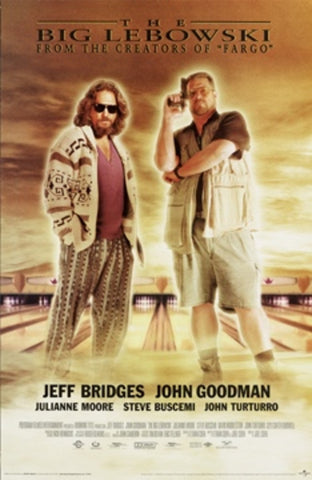 Movie Poster - Big Lebowski
