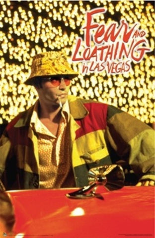 Movie Poster - Fear & Loathing in Las Vegas(B)